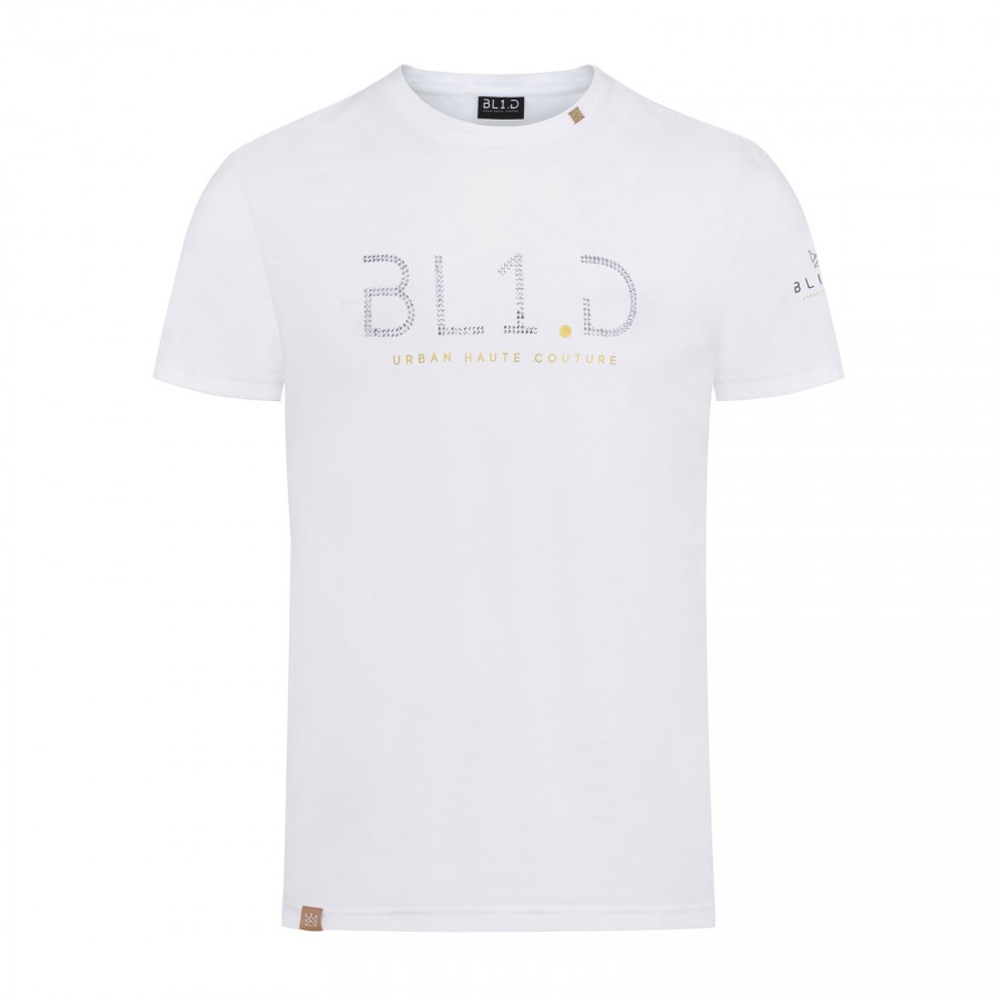 CRYSTAL White T-shirt